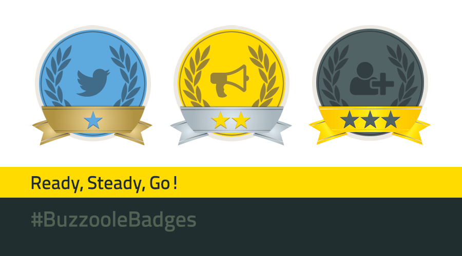 Take a place on the social podium by gaining Buzzoole badges!