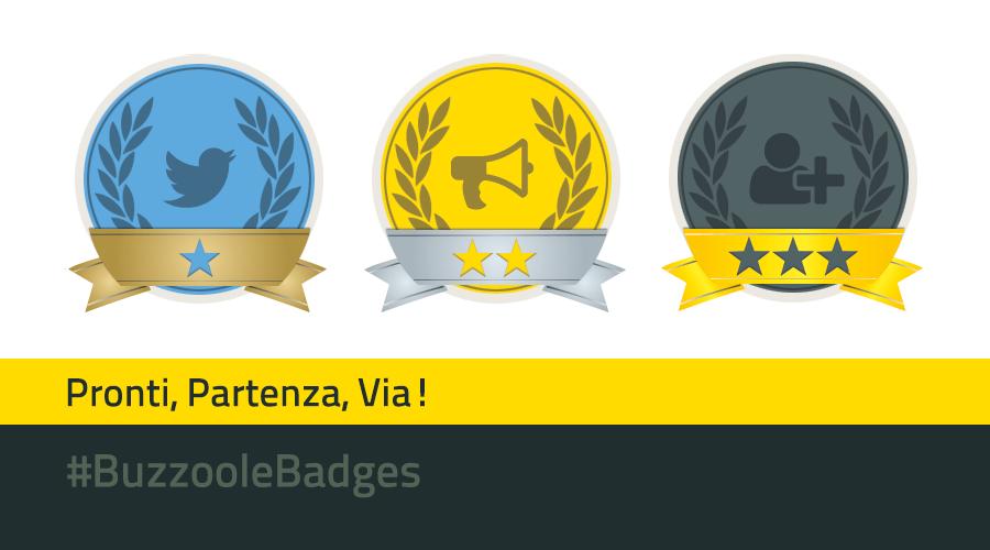 Conquistate un posto sul podio con i badge Buzzoole!