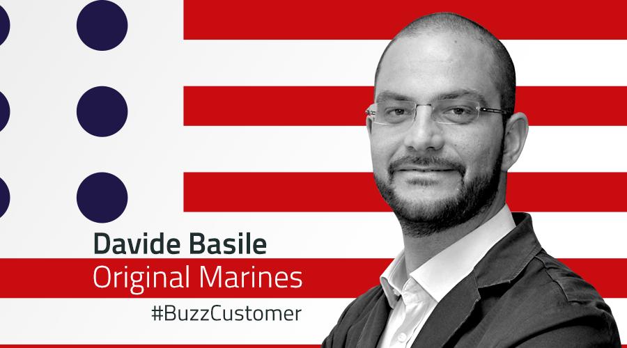#BuzzCustomer: Intervista a Davide Basile di Original Marines