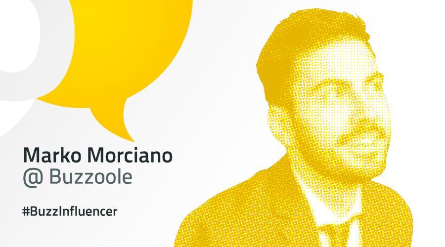 #BuzzInfluencer: intervista a Marko Morciano