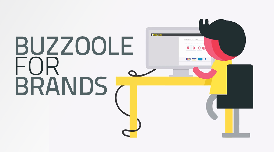 E' online la nuova Homepage di Buzzoole for Brands!