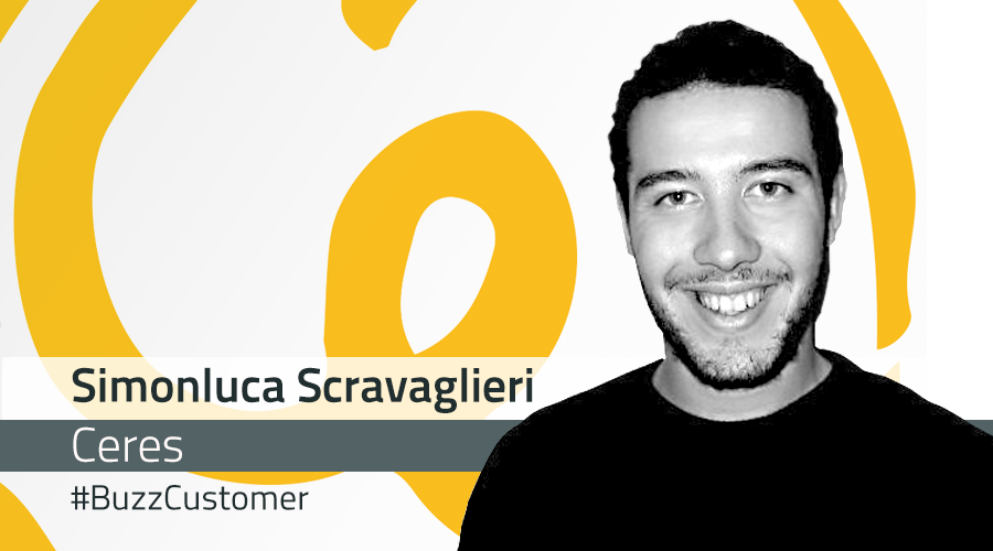 #BuzzCustomer: Interview with Simonluca Scravaglieri from Ceres