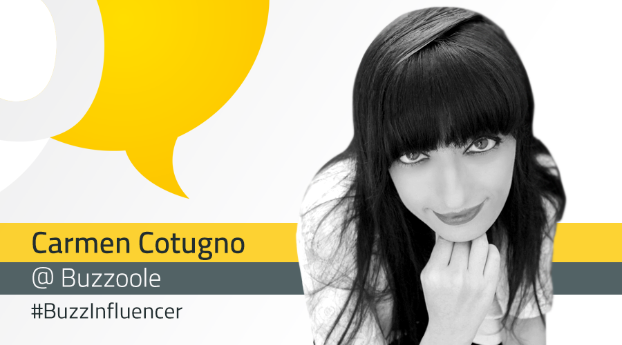 #BuzzInfluencer: intervista a Carmen Cotugno