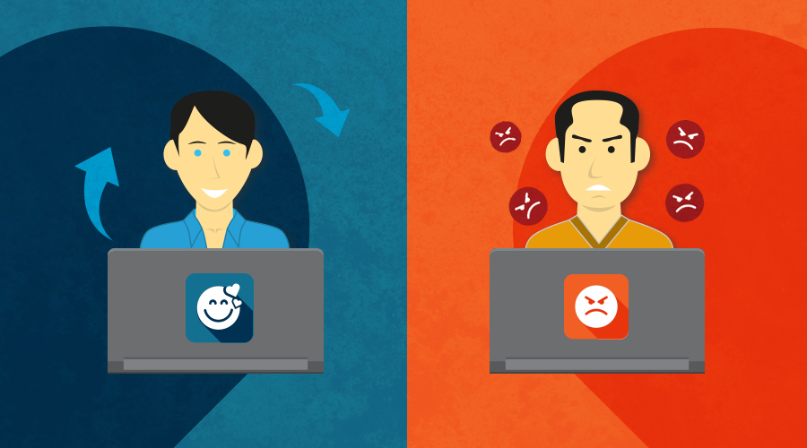 Le reazioni emotive alla base delle condivisioni