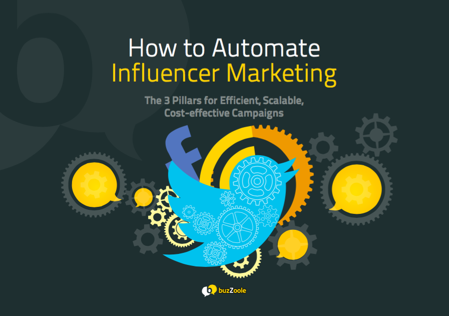 3 secrets for Efficient, Scalable,  Cost-effective Influencer Marketing Campaigns [eBook]