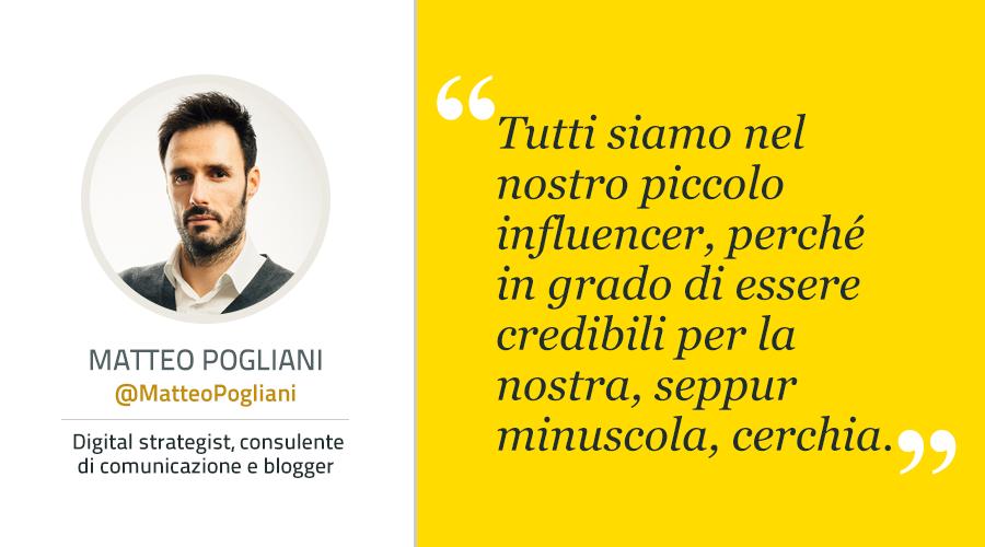 L'influenza della reputazione |Matteo Pogliani|