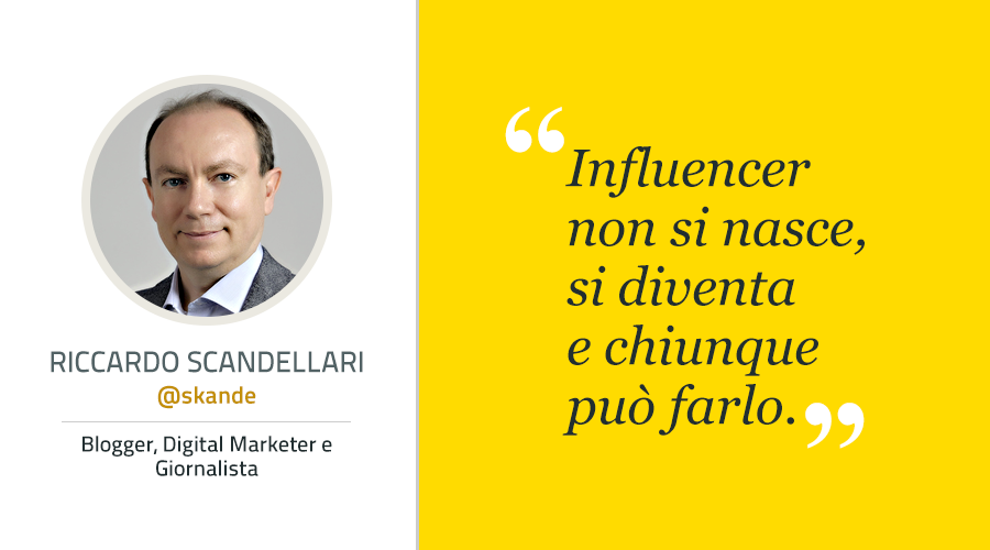 come diventare influencer skande