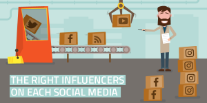 Differentiating the Approach When Involving Influencers on Twitter, Instagram, Facebook & YouTube
