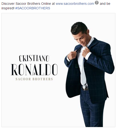 Cristiano Ronaldo Influencer marketing campaign