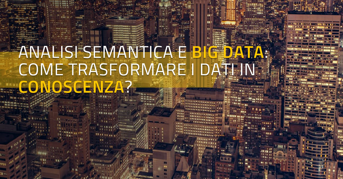 analisi semantica e big data
