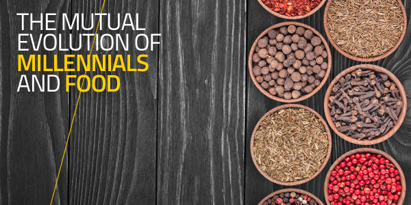 The Mutual Evolution of Millennials and Food