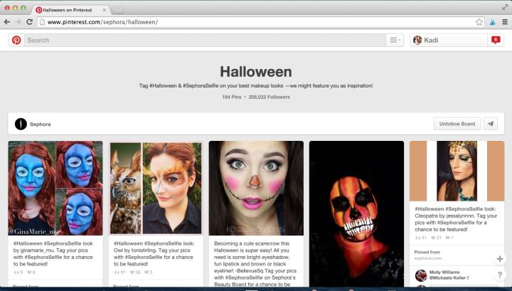 Sephora Halloween Campaign