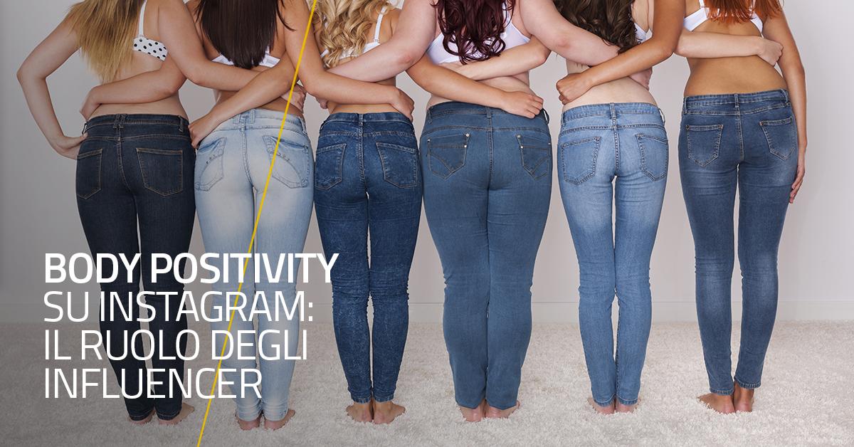 Body positivity su Instagram: il ruolo degli Influencer