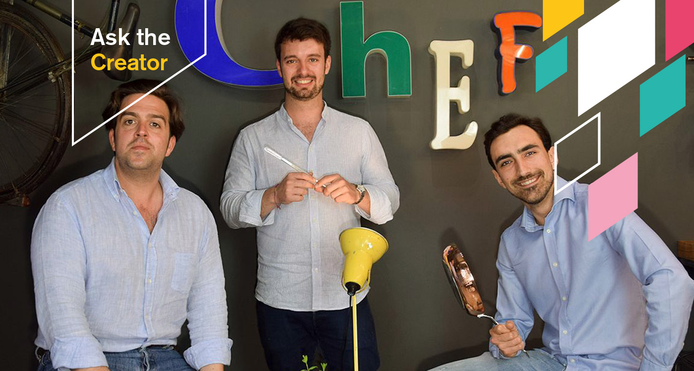 """Intervista a Chef in Camicia, tre amici ai fornelli: la cucina è """"social"""""""
