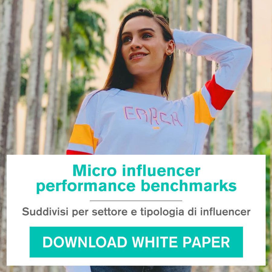 white paper - micro influencer performance benchmarks