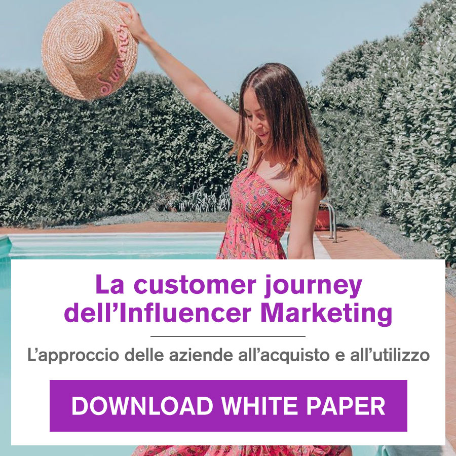 white paper - la customer journey dell'Influencer Marketing