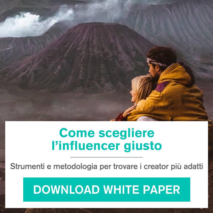 white paper - come scegliere l'influencer giusto