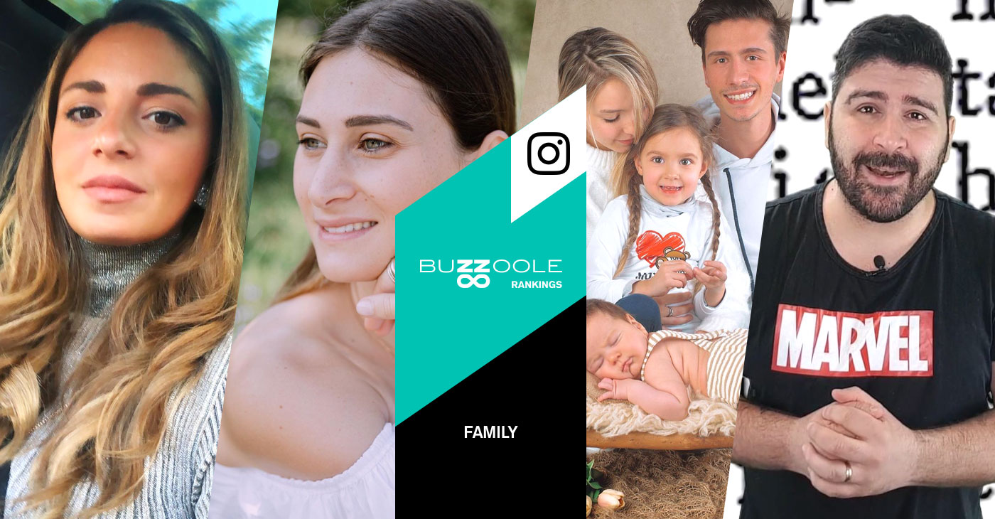 I migliori Family influencer su Instagram