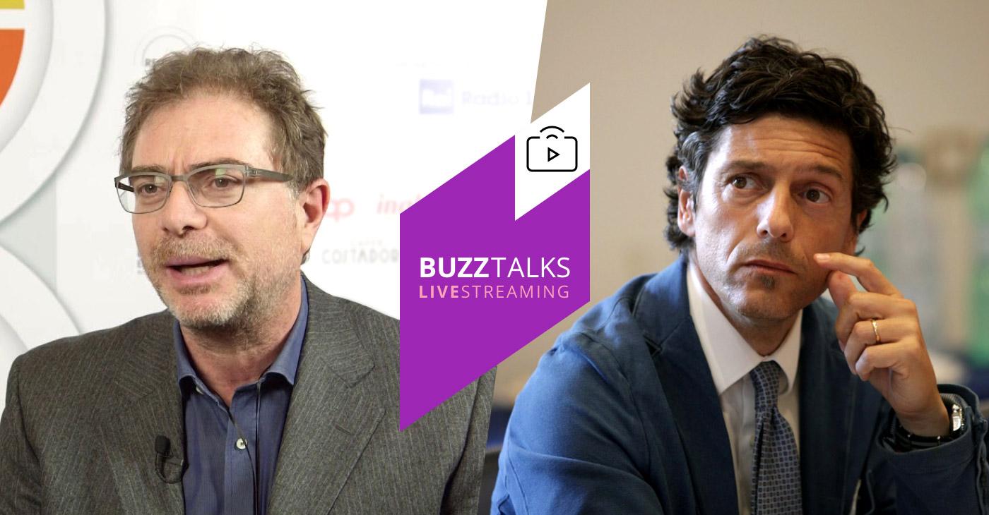 Buzztalks con Vincenzo Guggino e Massimiliano Dona