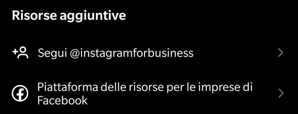 risorse instagram