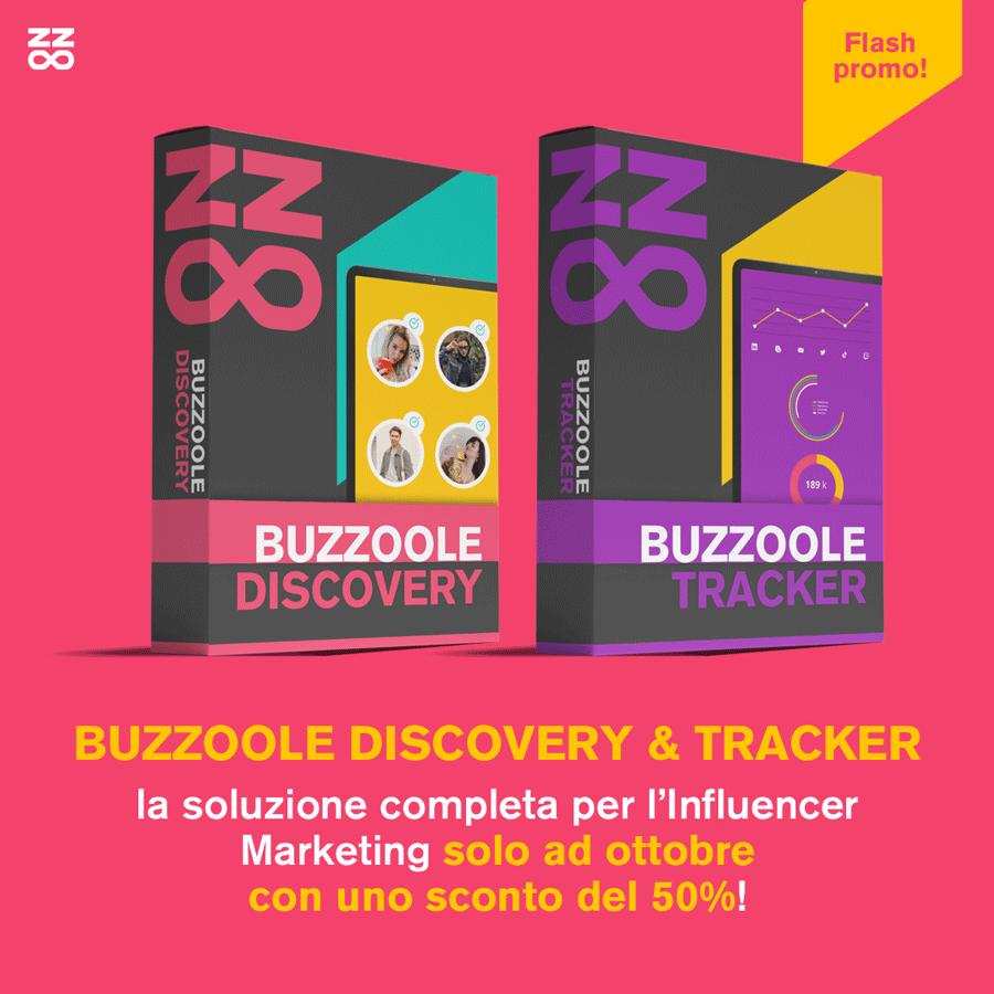 Promo a tempo - Buzzoole discovery e tracker