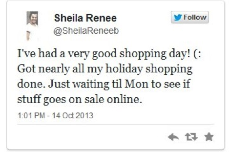 twitter shopping influence