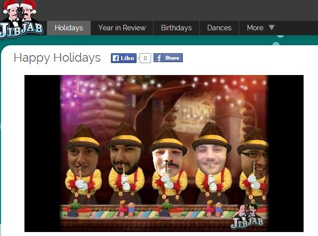 Merry Christmas! Funny Christmas eCards - JibJab