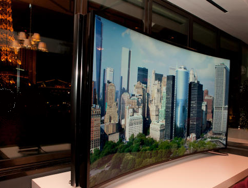 Samsung 85U9B bendable TV (1)