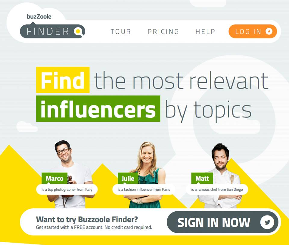 Finder_buzzoole_influencers