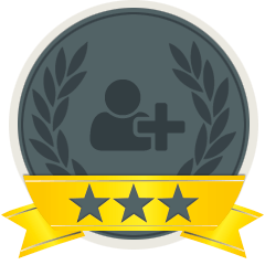 An example of one of Referral Badges.