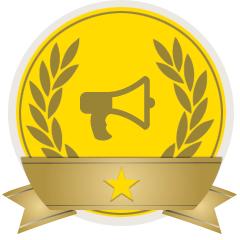 Un esempio di Campaigns Badges.