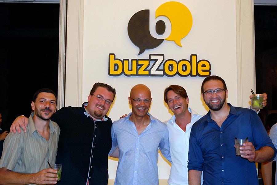 Luca Pignataro, Luca Camillo, Nader Sabbaghian, Fabrizio Perrone, Gennaro Varriale